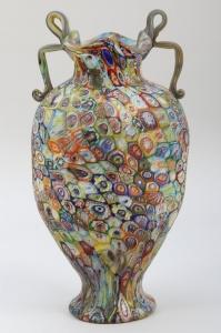 Millefiori Vase/Urn
