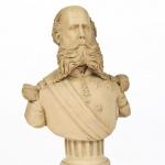 Pantaleon Panduro (1847-1909) Bust of Ferdinand Maximillian Joseph