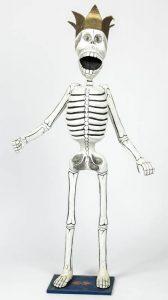 Lot 435. Antonio Joel Garcia (Mexico, 1955) Skeleton (Calaca), Est. $200-$400