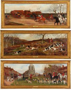 Lot 25. Sylvester Martin (British, 1856-1906) Three Works, est. $5,000-$7,000