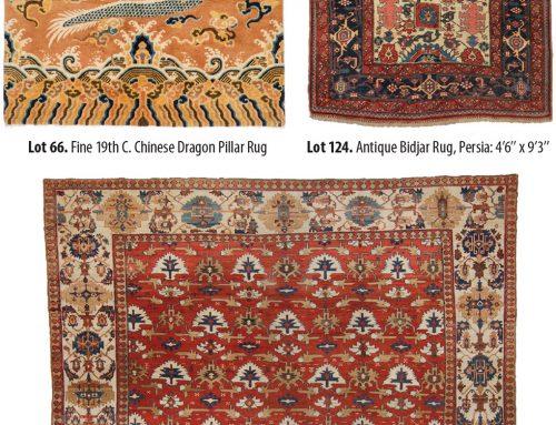 Important Auction Of Decorative & Collectible Antique Oriental Rugs | April 29