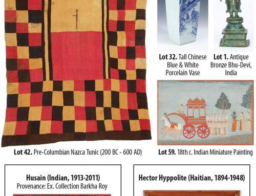 Art 360 | Fine, Folk, Outsider & Ethnographic Art | Auction, May 5