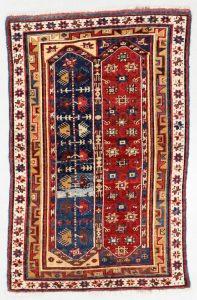 Lot 79: Megri Rug, Turkey, 19th C., 3'11'' x 6'1''