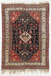Lot 87: Fine Kashguli Rug, Persia, Circa 1880, 4'0'' x 5'8''